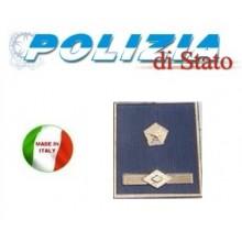 Gradi Tuta Ordine Pubblico Polizia di Stato Ispettore Superiore Art.PS-OP9