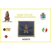 Gradi Velcro per Polo Guardia di Finanza Agente GDF 6x6 Art.GDF-OP1