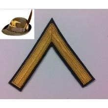 Grado Gallone cappello Alpino Sottotenente Art.NSD-AS