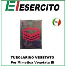 Gradi Tubolarini Vegetati Esercito Italiano 1° Caporal Maggiore Capo Art.TUB-1CMC