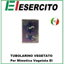 Gradi Tubolarini Vegetati Esercito Italiano Capitano Art.TUB-C