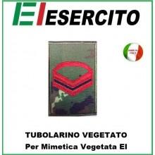 Gradi Tubolarini Vegetati Esercito Italiano Caporale  Scelto  Art.TUB-CMS