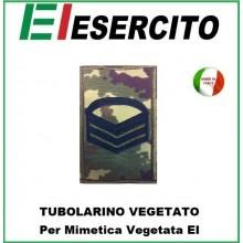 Gradi Tubolarini Vegetati Esercito Italiano Caporam Maggiore Capo Scelto  Art.TUB-CMCS