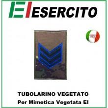 Gradi Tubolarini Vegetati Esercito Italiano Caporam Maggiore VFP4 Art.TUB-CMVFP4