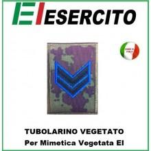 Gradi Tubolarini Vegetati Esercito Italiano Caporale  VFP4 Art.TUB-CVFP4