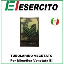 Gradi Tubolarini Vegetati Esercito Italiano Sergente Maggiore Qualificato Art.TUB-SM