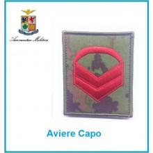 Gradi Velcro Aeronautica Militare Aviere Capo Art.G-A1