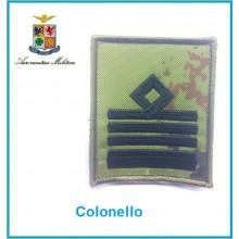 Gradi Velcro Aeronautica Militare Colonello Art.G-A4