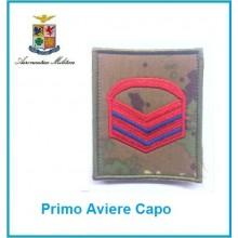 Gradi Velcro Aeronautica Militare Primo Aviere Capo  Art.G-A9