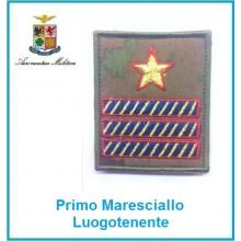 Gradi Velcro Aeronautica Militare Primo Maresciallo Luogotenente  Art.G-A10