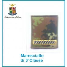 Gradi Velcro Aeronautica Militare Maresciallo di 3 Classe Art.G-A12
