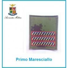 Gradi Velcro Aeronautica Militare Primo Maresciallo Art.G-A11