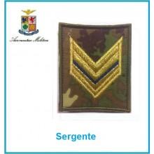 Gradi Velcro Aeronautica Militare Sergente  Art.G-A13