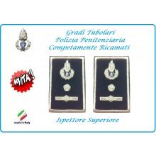 Gradi Tubolari Ricamato Polizia Penitenziaria Ispettore Superiore Novità Art.NSD-T-PP23