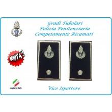 Gradi Tubolari Ricamato Polizia Penitenziaria Vice Ispettore Novità Art.NSD-T-PP20