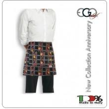 Grembiule Falda Banconiere Con Tascone Spezie cm 40x70 Ego Chef Art.6100129A