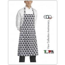 Grembiule Cucina Pettorina con Tascone cm 90x70 Geko Art.6103132A