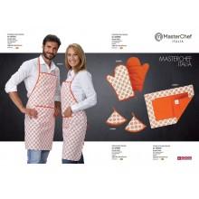 Grembiule  Kitchenkit Presine Tovagliette MasterChef Italia Originali Siggi Art.MASTERCHEF