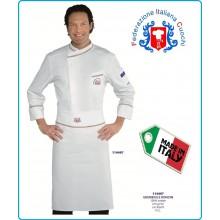 Grembiule Falda RONDIN Cuoco Chef FEDERAZIONE ITALIANA CUOCHI F.I.C. Isacco Art.114497