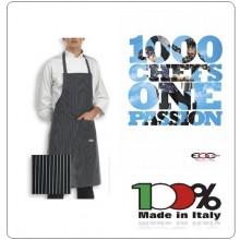 Grembiule Cucina Pettorina con Tascone cm 90x70 Bip Apron SIR Ego Chef Italia Art.6103054A