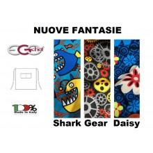 Grembiule Falda Waist Vita Con Tascone cm 70x70 Ego Chef Italia DAISY  SHARK GEAR  Art. 6101