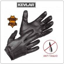 Guanti Tattici Tactical Gloves Antitaglio Kevlar + Dyneema® Militari Polizia Carabinieri Vigilanza HUGACARE Art.GL713007