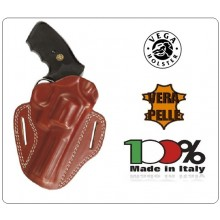 Fondina Aperta Pelle  Vega Holster Italia Colore Nera o Marrone Art.HA1