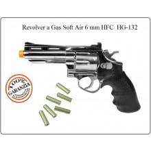 Revolver Cromato 4 Pollici  Soft Air 6 mm GAS HFC Art.HG132S