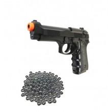 Pistola a Molla HFC Mod. Beretta 92 Soft Air Guerra Simulata Idea Regalo Polizia Carabinieri Art. HA 118B