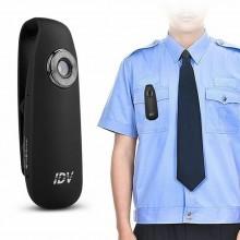 Mini Videocamera Professionale Per Polizia Carabinieri Guardie Giurate Vigilanza GPG IPS HD 1080P 130° Tutela il Tuo Operato e Evita Denunce Art. IVD