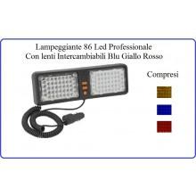 Lampeggiante Emergenza mod. StrobeMax Dash Led Led-In-Car Strobe Max  Dasch 12V Art.W24421