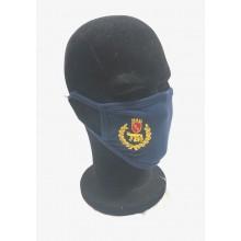 Mascherina Protettiva Modello Adulto con Ricamo Polizia Locale con ROMA Capitale SPQR Nuovo Lavabile Art. NSD-PL-SPQR
