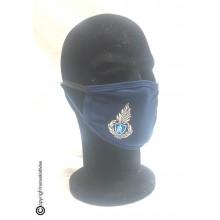 Mascherina Protettiva Modello Adulto con Ricamo Polizia Penitenziaria con Logo Nuovo Lavabile Art. NSD-PP-19C