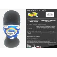 Mascherina Protettiva Modello Adulto o Bambino Andrà Tutto Bene Arcobaleno Lavabile 20 Volte COVID-19 Art. PM-BEN