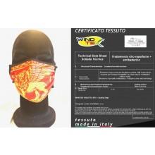 Mascherina Protettiva Modello Adulto Regione Veneto Lavabile 20 Volte COVID-19 Art. PM-VENETO