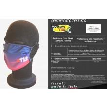 Mascherina Protettiva Modello Adulto Specifica CARABINIERI RADIOMOBILE 112  Lavabile 20 Volte COVID-19 Art. PM-112