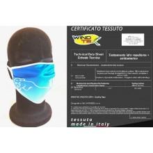Mascherina Protettiva Modello Adulto Polizia di Stato 113 Squadra Volante  Lavabile 20 Volte COVID-19 Art. PM-113