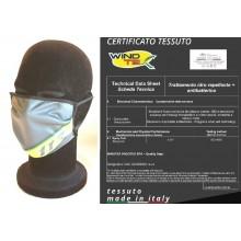 Mascherina Protettiva Modello Adulto Guardia di Finanza G. di F. 117 Fiamme Gialle Lavabile 20 Volte COVID-19 Art. PM-GDF