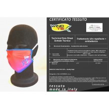 Mascherina Protettiva Modello Adulto Soccorso Sanitario 118 Soccorritore Ambulanze Lavabile 20 Volte COVID-19 Art. PM-118