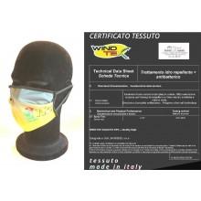 Mascherina Protettiva Modello Adulto Vigili del Fuoco 115 Draghetto  Pompieri Lavabile 20 Volte COVID-19 Art. PM-VVF