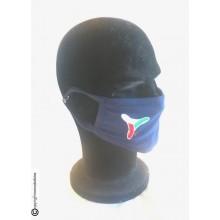 Mascherina Protettiva Modello Adulto con Ricamo Guancia Protezione Civile Lavabile COVID-19 Art. NSD-PC-19