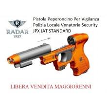 Pistola Peperoncino Autodifesa per Vigilanza Security Polizia Locale Piexon JPX JET STANDARD Radar 1957 LIBERA VENDITA Art. 8200-0009