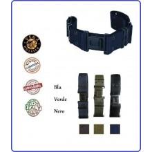 Cinturone Operativo H 5 cm in Nylon Carabinieri Associazione Protezione Civile 118 CRI Esercito Blu Verde Nero Vega Holster Italia Art..2V51