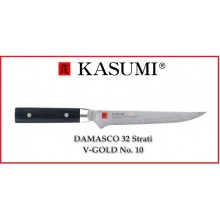 Coltello Giapponese Damasco 32 Strati KASUMI Disosso - Chef con lama da 16 Cm Art.84016