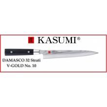 Coltello Giapponese Damasco 32 Strati KASUMI Filettare - Chef con lama da 24 Cm Art.86024
