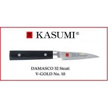 Coltello Giapponese Damasco 32 Strati KASUMI Verdura - Chef con lama da 8 Cm Art.82008