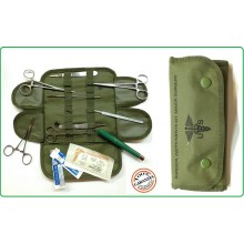 Kit Medico Chirurgico Militare Originale Tasca Medica Soccorso Sanitario First Aid Surgical Kit with Military MOLLE  US Art.16025100
