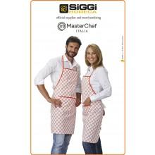Grembiule Unisex Kitchenkit MasterChef Italia Prodotto Ufficiale Siggi Art.8034088198177