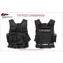 Tactical Vest Gilet Tattico Modulare Corpetto Tattico Mil-Tec Nero CARABINIERI VENDITA RISERVATA Art.10720002-CC