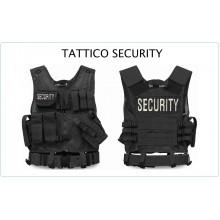 Tactical Vest Gilet Tattico Modulare Corpetto Tattico Mil-Tec Nero SECURITY LIBERA VENDITA  Art.10720002-SEC